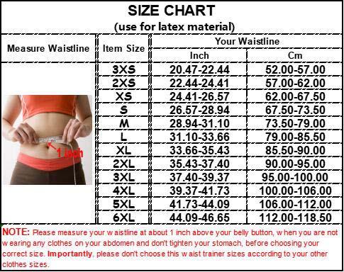 Double Belts Bright Surface Sauna Waist Trimmer size