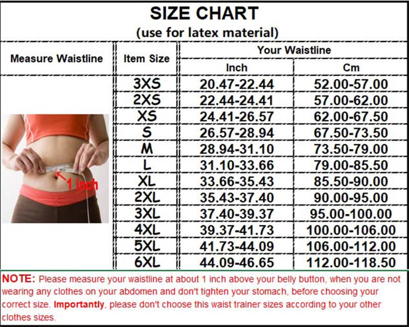 Short Torso Waist Trainer size