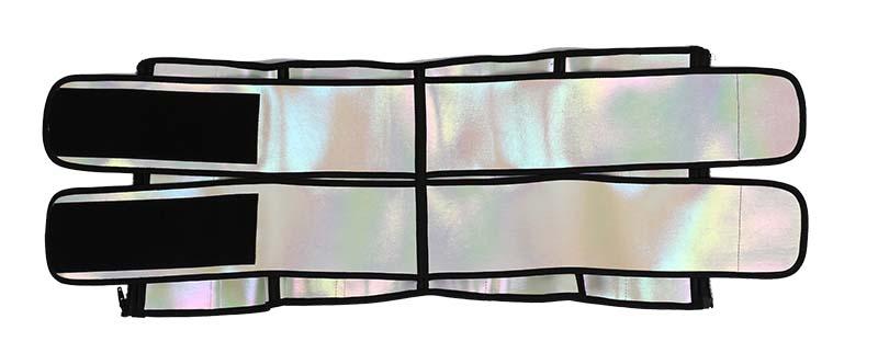 Double Belts Bright Surface Sauna Waist Trimmer 2