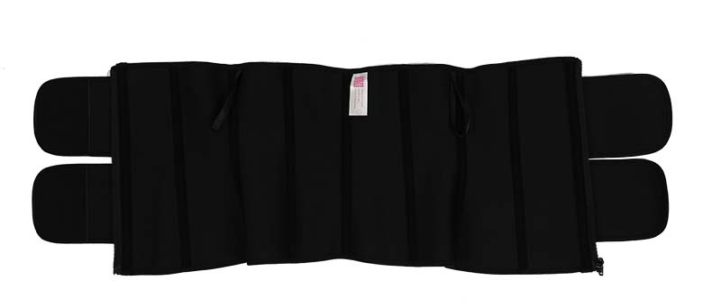 Double Belts Bright Surface Sauna Waist Trimmer 3