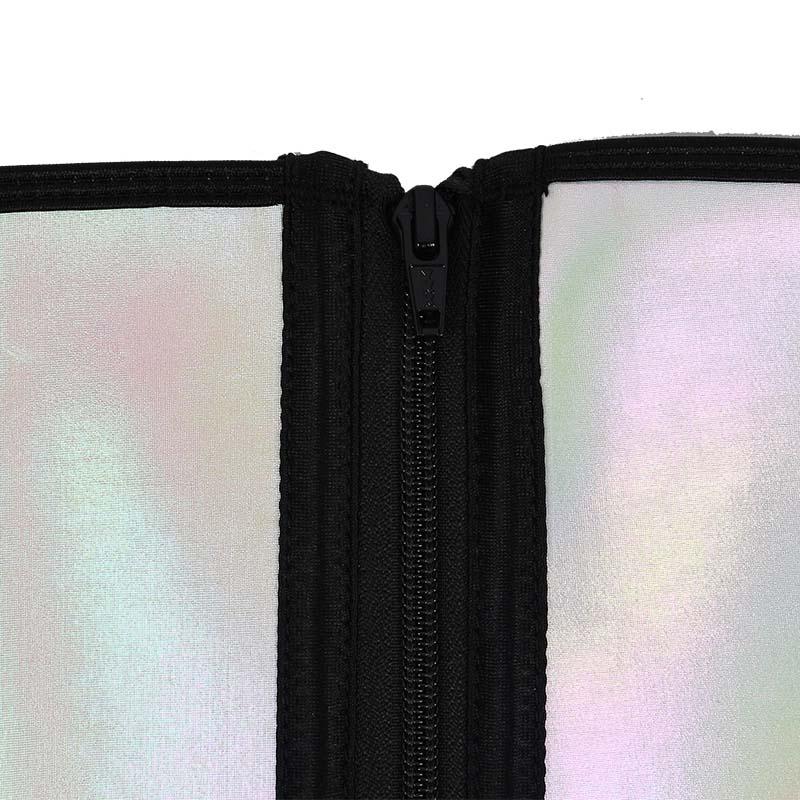 Double Belts Bright Surface Sauna Waist Trimmer 10